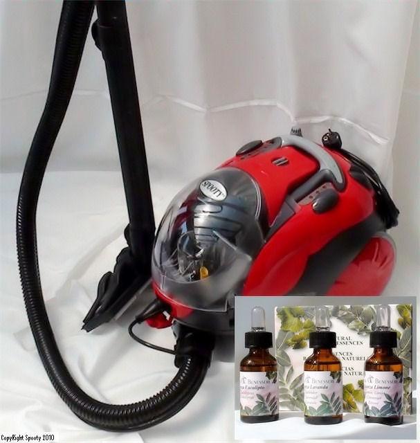 Purifier et assainir l'air de la maison et d'une chambre d'enfant avec un nettoyeur aspiro vapeur