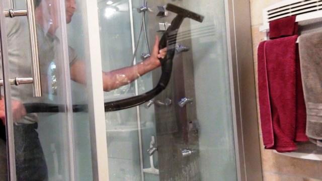 cabine de douche nettoyage